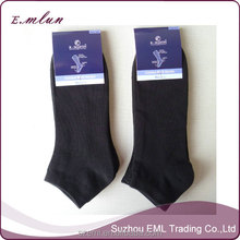 Cheap bulk cotton black men socks