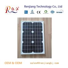 High Efficiency Grade A soalr panel wholesale 30w factory direct sale