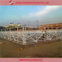 Low cost and short duration stable prefab steel structure buildings or prefab roofing system