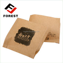 Supplies brown grocery bags for food
