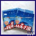Bolsa de embalaje de embalaje de detergente a todo color al por mayor de impresos / detergente / envases de detergente