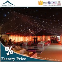 Lining decoration large party tent / wedding tent / event tent exported to Saudi Arabic