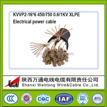low smoke Halagon-free copper core XLPE Insulated and sheathed copper wire woven shielded control cable