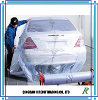 2015 Hot Sales clear/Bule pe car cover