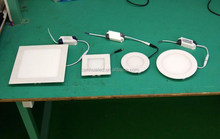 Popular high power smd2835 led recessed ceiling light, 6w round panel led light