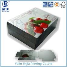 Fruta de la cereza caja de cartón