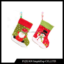 Popular Festival Santa&Snowman Pattern Christmas Sock Gifts For Friends