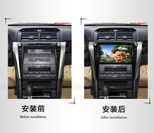 In dash car DVD player fit for Toyata Camry 2015 support Ipod