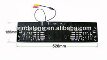 Europe License Plate Car Reversing Camera with Waterproof and night vision CAM-120M Newest!!!
