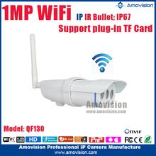 HD720P waterproof IP67 SD Card slot WiFi panoramic ip camera