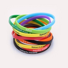 military rubber bracelets,fashion bracelet silicone