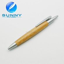 2015 Recycle Bamboo ballpoint pen for promotional use