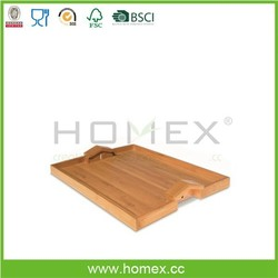 New Designed Serving Tray With Handle/Homex_FSC/BSCI
