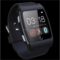 Shenzhen factory smart watch 2015 with NFC function, wristband for iphone, Hear rate monitor smart watch 2015 with front camera.