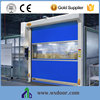 Perfect Surface Electric Automatic Stainless Steel Fast pvc Door With Imported pvc