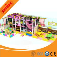 Kids Mini House Indoor Play Equipment For Home, Indoor Plastic Soft Equipment