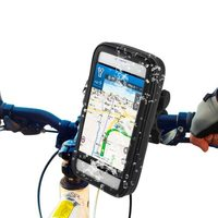 Outdoor Sports Waterproof Bag Bike Mount Case for iPhone 6 Plus etc with Bicycle Mount