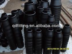 black steel bw ecc sch40 large pipe reducer/taper pipe