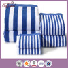 Yarn Dyed 100% cotton velour Striped Beach towel with pocket