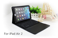 2015 Hot New Products For iPad Air 2 Foldable Wireless Bluetooth Keyboard Cases
