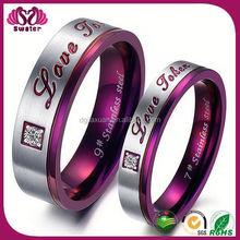 Jewelry Fashion Wedding Ring True Love Waits Ring