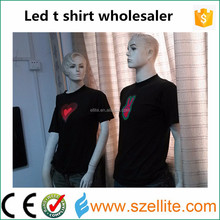 Amazing sound effect pure cotton popular DJ party concert wholesale music t-shirts