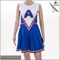 Spandex School personalizada chica Cheerleading uniformes uniformes