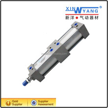 Double Acting Multi Stage Pneumatic Cylinder For Eyelet Buttonhole Sewing Machine