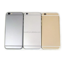 100% perfect fit New back housing for iphone housing, for iphone 6 back cover housing replacement