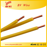 BV pvc insulated single core copper cable pvc cable gland size