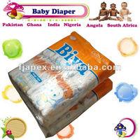 Biya plastic nappy disposable nappies nappy girls