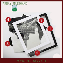 wholesale uncut and precut titan frame matboard,new model eyewear frame glasses matboard,put your picture in a frame matboard