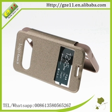 PU leather PC lighter phone case for Samsung Galaxy Core2 G355h