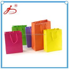 Beautiful paper gift packaging supplies