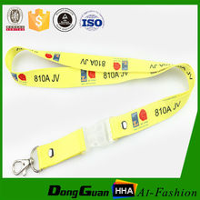 Inexpensive nice quality polyester pen holder lanyard free sample for pen