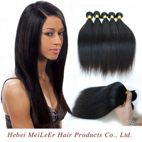 8 To 30 Inches Tangle Free 6A Grade 100% Virgin Human Long Black Straight Hair Wig for men