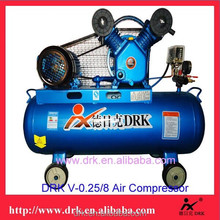 Guangzhou DRK W-0.36/8 portable piston electric air compressor