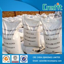 Hot Sale Dihydrate Calcium Chloride 77% Food Grade