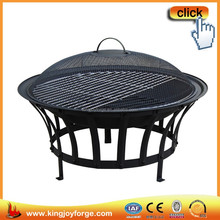 High quality smooth outdoor steel fire bowl