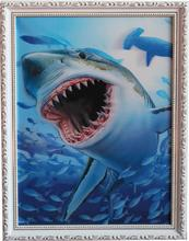 3D Fashion Design Animal Wall Art Wooden Picture Frame