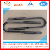 DONGFENG heavy truck parts Rear spring horse bolts with nuts 2904131-T1100