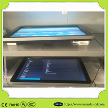 CE RoHS wall mounted lcd advertising player with andriod/windows