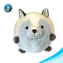 Fox plush animal ball toy