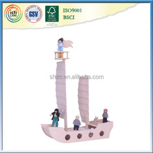 Attractive!!!New Gift Product Theme Park Kids Mini Pirate Ship!!!