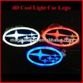 nuevo diseño colorido 4d iluminado el emblema de coches