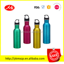 350/500/600/750/1000ml standard mouth 304 stainless steel double wall insulated vacuum thermals sports bottle