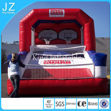 2015 new design custom Latest new design Inflatable Basketball Hoop/ Inflatable Basketball Shoot Game