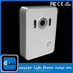 2015 Hot sale wifi IP door bell, wireless network door lock,remote central door