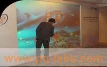 interactive floor tiles for commercial display