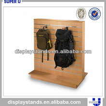 Customized top/super quality peg hook floor display stand